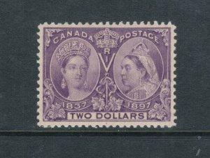 Canada #62 Extra Fine Mint Full Original Gum Hinged *With Certificate*