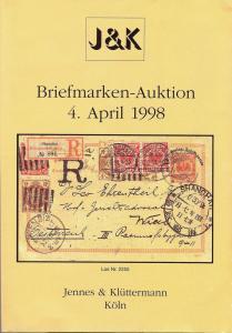 Jennes & Kluttermann: Sale # 11  -  11. Briefmarkenauktio...