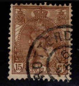 Netherlands Scott 64 used nicely centered stamp, Rotterdam canceled