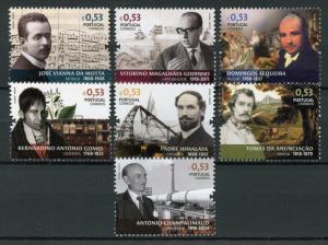 Portugal 2018 MNH Figures Portuguese History & Culture 7v Set People Stamps