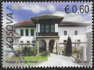 U.N. Kosovo 351 Used - Architectural Heritage of Kosovo - Tekke of Sheikh Bani