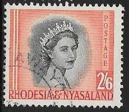 Rhodesia & Nyasaland 152 Used - Elizabeth II