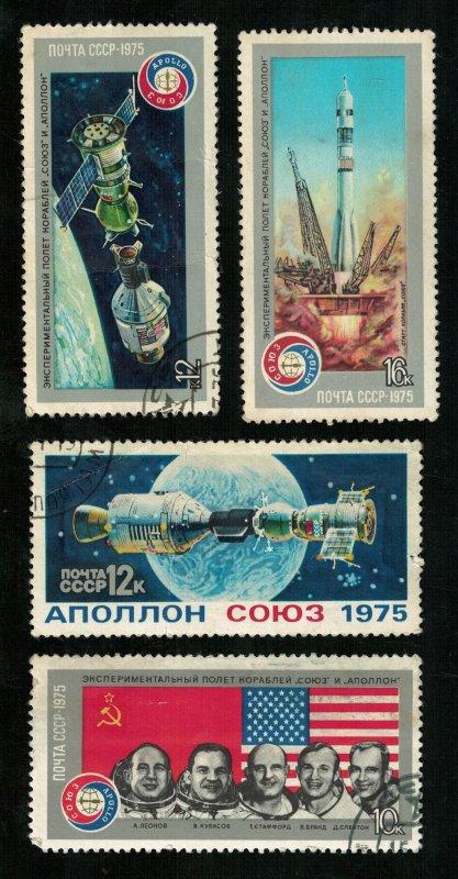 Space, USA-USSR, Apollo-Souz (3515-T)