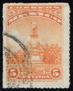 Mexico #654 Columbus Monument; Used (0.25)