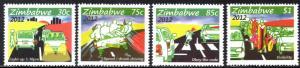 Zimbabwe - 2012 Road Safety Set MNH**