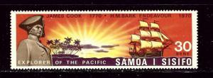 Samoa 332 MNH 1970 Capt Cooks ship