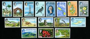 Anguilla Stamps # 145-600 VF OG NH Catalog Value $64.90