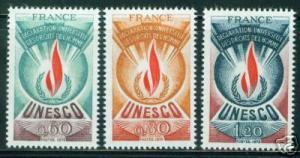 FRANCE Scott 2o13-5 MNH** 1987 UNESCO set CV $7