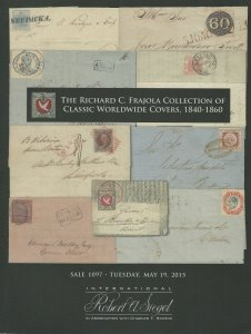 Richard Frajola, Classic Cover Collection, R.A. Siegel, Sale 1097, May 19, 2015