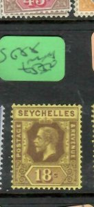 SEYCHELLES  (P2705B)   KGV  18C  SG  88   MNH
