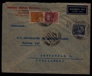 Brazil Zeppelin cover 20.6.35