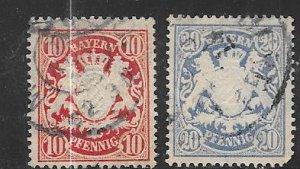 Bavaria #41-42   (U)  CV $4.50