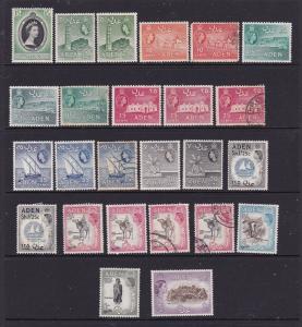 Aden a small lot QE2 era M &/or U