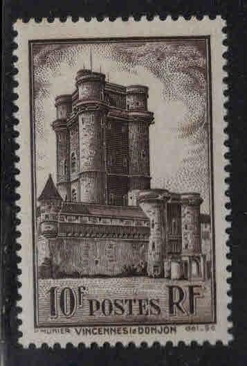 France Scott 346 MH*  Vincennes stamp 1938