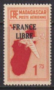 Madagascar 1942 SC C28 MLH