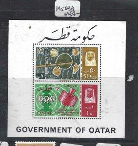 QATAR  (PP2306B)  ITU MINI SHEET      SG  69A        MNH