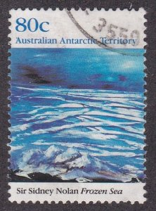 Australian Antarctic Territory # L80, Frozen Sea, Used, 1/3 Cat.