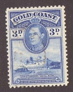 Gold Coast  1938   used  119     3 d..    #