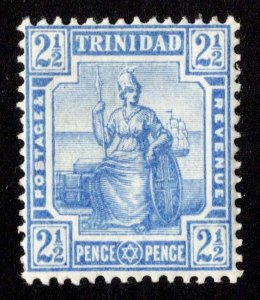 Trinidad Scott 107 Unused hinged.