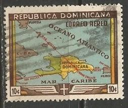 Dominican Republic C62 VFU MAP Y302-5