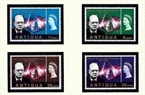 Antigua 157-60 MNH 1966 Churchill