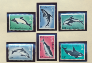 Falkland Islands Stamps Scott #299 To 303, Mint Never Hinged - Free U.S. Ship...