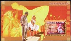 Guinea 2006 MARILYN MONROE & SONNY TUFTS FILM Sheet Perforated Mint (NH)