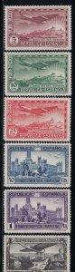 Spain  C62-C67  Planes over Madrid   1931   MH Scv  $ 10.20