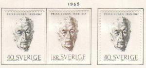 Sweden #683-5 Mint