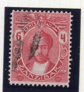 Zanzibar 1913-14 Early Issue Fine Used 6c. 115704