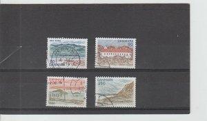 Denmark  Scott#  655-658  Used  (1979 Landscapes)
