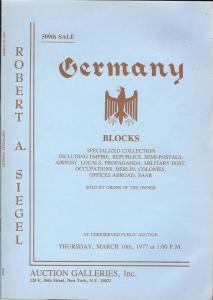 Germany Blocks: Specialized Collection including Empire, ...