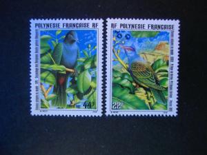 French Polynesia #661-62 Mint Never Hinged - (AZ2) WDWPhilatelic!