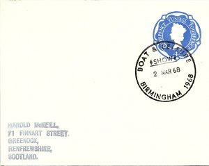 Great Britain, Postal Stationary