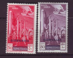 J19795 Jlstamps 1932 cyrenaica set mh #c4-5 ovpt