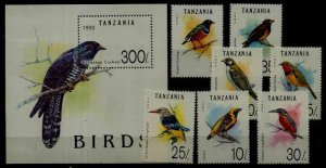 Tanzania 978-85 MNH Birds SCV15.35