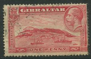Gibraltar #96  KGV  Used  Scott CV. $4.00.