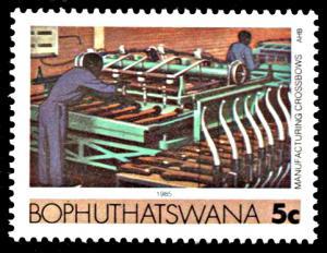 Bophuthatswana 143, MNH, Michel 152y, phosphorescent paper variety