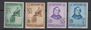 J25734 1942 italy set mnh #423-6 rossini