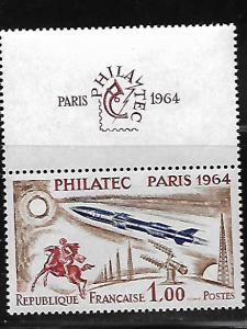 FRANCE 1100 MINT HING WITH TAB PHILATELIC ISSUE