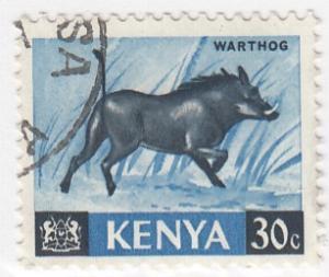 Kenya, Sc  24, Used, 1966, Animals