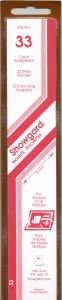 SHOWGARD 215/33 (22) CLEAR MOUNTS RETAIL PRICE $9.75