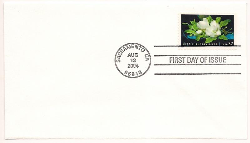 US#3872 - Martin Johnson Heade - First Day Cover