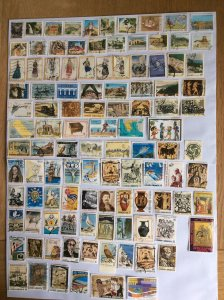 Greece 100+ stamps - Lot J
