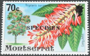 DYNAMITE Stamps: Montserrat Scott #350 – Specimen