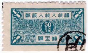 (I.B) China Revenue : Rice Duty 50c