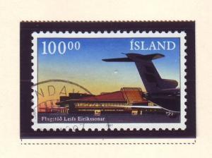 Iceland Sc 638 1987 Keflavik Airport stamp used