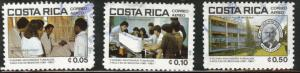 Costa Rica Scott C824-826 used 1981 Airmails