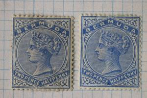 Bermuda sc#22 22a Mint MH OG one faulty crease cv$51.00