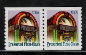2911 Juke Box US Postage Pair Mint/nh FREE SHIPPING